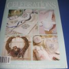 Celebrations to cross stitch and craft by Leisure Arts Winter spring 1990