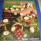 More country miniatures cross stitch patterns by Dale Burdett