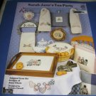 Sarah Janes Tea Party cross stitch pattern cl61