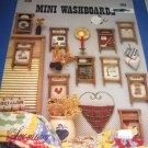 Mini Washboards by  Sew Easy cross stitch pattern SSE5