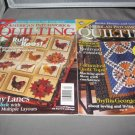 American Patchwork and Quilting  1999 and 2001