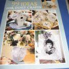 Leisure Arts  1831 99 ideas for Doily Crafts