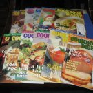 12 issues of Cookbook Digest
