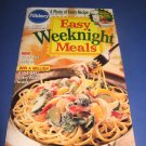 Pillsbury Classic  no.199 Easy Weeknight Meals cookbook recipes