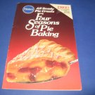 Pillsbury Four Seasons of Pie Baking cookbook recipes