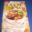 Better Homes and Gardens Soups and stews Cookbook