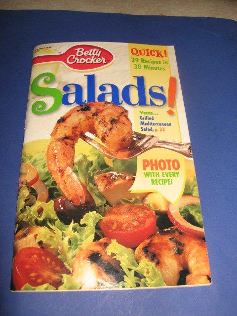 Betty Crocker Salads cook book