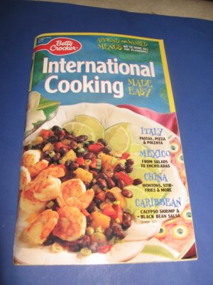 Betty Crocker International Cooking Made Easy cook book #117