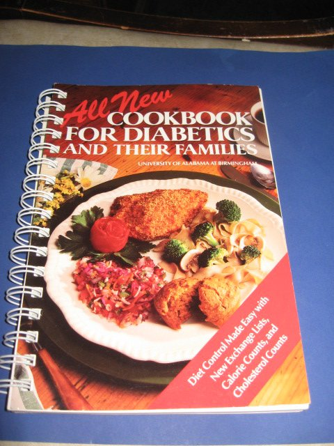 All new Cookbook for diabetics and their families
