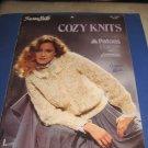 Susan Bates Cozy Knits no 17674 knitting patterns