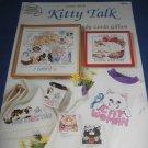 Kitty Talk cross stitch American School of needlework 3653