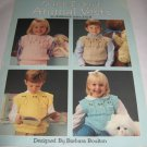 Quick to knit animal vests Leisure Arts 497 by Barbara Boulton