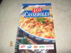 Favorite all time recipes 101 Casseroles Cookbook