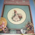 Leisure arts Summers Remembered by Paula Vaughan cross stitich patterns 392