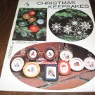 Christmas Keepsakes crochet and cross stitch patterns
