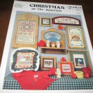 Christmas at the Junction book 14 cross stitch patterns