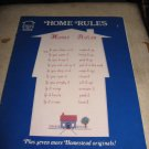 Home Rules Homestead Designs Cross stitch patterns