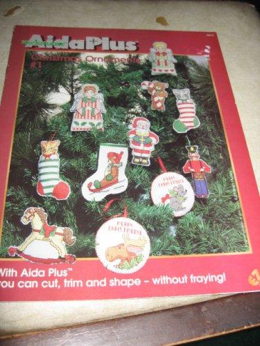 Aida Plus  Christmas Ornaments #2 cross stitch patterns 4810