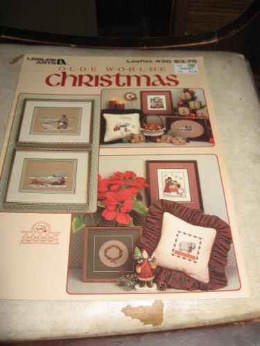 Olde World  Christmas cross stitch pattern Leisure arts 430