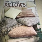 Classic Knit Pillows Leisure arts 3180 knit patterns