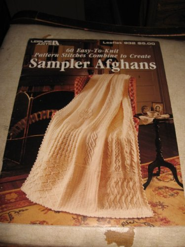 Sampler Afghans Leisure arts 932 knit patterns