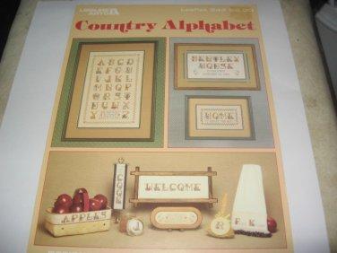 Country Alphabet Leisure arts 344