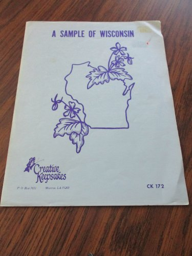 A sample of Wisconsin Creative Keepsakes CK172