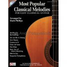 Most Beautiful Classical Melodies (Easy Classical Guitar TAB Tablature Songbook with CD)