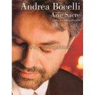 Andrea Bocelli: Arie Sacre - Arie e Canti Religiosi (Piano/Vocal Personality Songbook) **RARE**