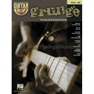 Grunge (Guitar TAB Tablature Mixed Songbook with Play-Along CD) - Volume 88