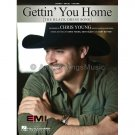Gettin' You Home (The Black Dress Song) - Chris Young (Piano Vocal Popular/Country Sheet Music)