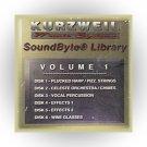 Kurzweil Music Systems SoundByte® Library, Volume 1 (Kurzweil MIDI Disk)