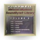 Kurzweil Music Systems SoundByte® Library, Volume 2 (Kurzweil MIDI Disk)