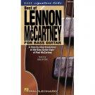 Best of Lennon & McCartney for Bass Guitar (Bass Signature Licks VHS Video) - The Beatles **SALE**
