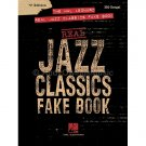 The Hal Leonard Real Jazz Classics Fake Book, 'C' Edition (C Instruments Mixed Fake Book) **RARE**
