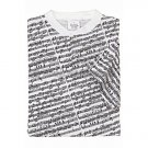 Sheet Music Design T-Shirt - White, Short Sleeve, Medium Size