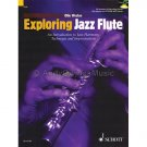 Exploring Jazz Flute by Ollie Weston (Flute Instruction Book with CD)
