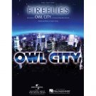 Fireflies - Owl City (Piano Vocal Popular Sheet Music)