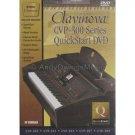 Yamaha Clavinova CVP-300 Series Digital Pianos QuickStart DVD