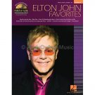 Piano Play-Along Volume 77: Elton John Favorites (Piano/Vocal/Guitar Songbook with Play-Along CD)