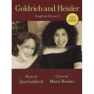 Goldrich and Heisler Songbook Volume 2, includes Alto's Lament (Piano/Vocal/Guitar Songbook)