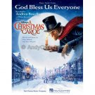 God Bless Us Everyone - Andrea Bocelli, from Disney's A Christmas Carol (Piano Vocal Sheet Music)