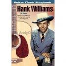 Guitar Chord Songbook: Hank Williams (Guitar Chords/Lyrics Personality Songbook)