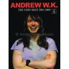 Andrew W.K. - The Very Best 2001-2009 (Guitar TAB Tablature Personality Songbook)