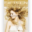 Fifteen - Taylor Swift (Piano Vocal Popular/Country Sheet Music)