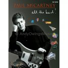 Paul McCartney: All The Best! (Easy Guitar TAB Tablature Personality Songbook) - The Beatles