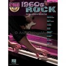 1960s Rock (Keyboard/Piano/Vocal Songbook with Play-Along CD) - Volume 17