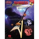 Shred Guitar - Rock and Metal Lead Techniques by Greg Harrison (Guitar Instruction Book with CD)