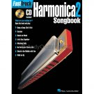 FastTrack Harmonica Songbook - Level 2 (Harmonica Music Instruction Song Book with CD)