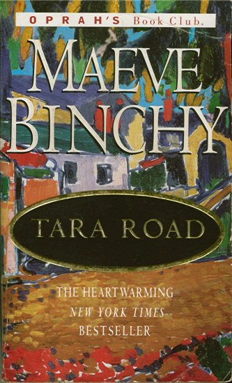 TARA ROAD by Maeve Binchy (2000) BESTSELLER